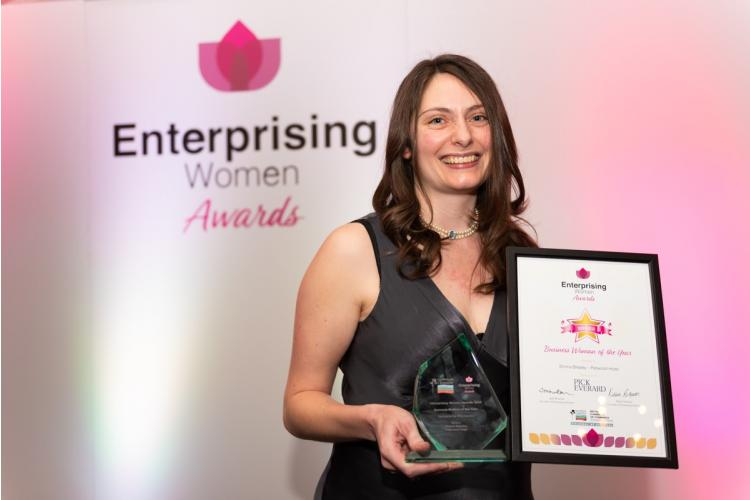 Emma Brealey named 'Business Woman of the Year'